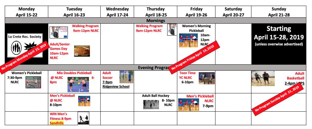 16. Fall 2week schd 2019 April 15-28