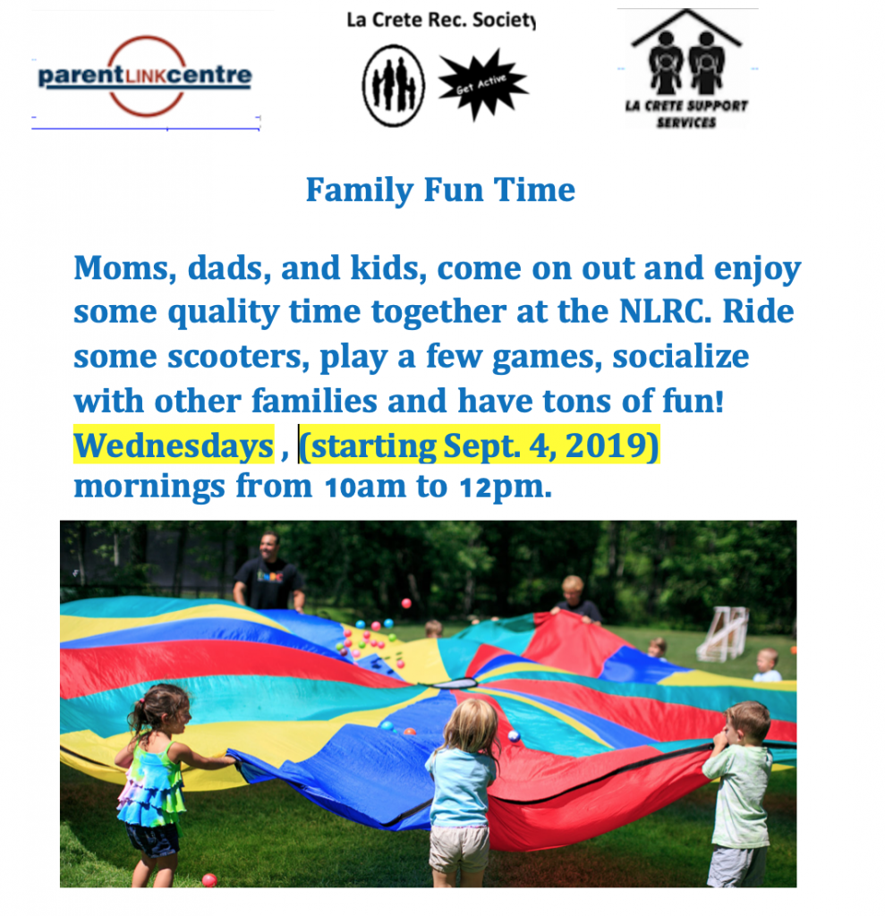 Family Fun Time 2019-20 fall winter