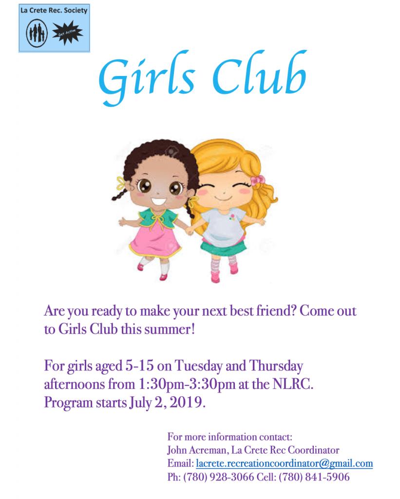 Girls Club 2019