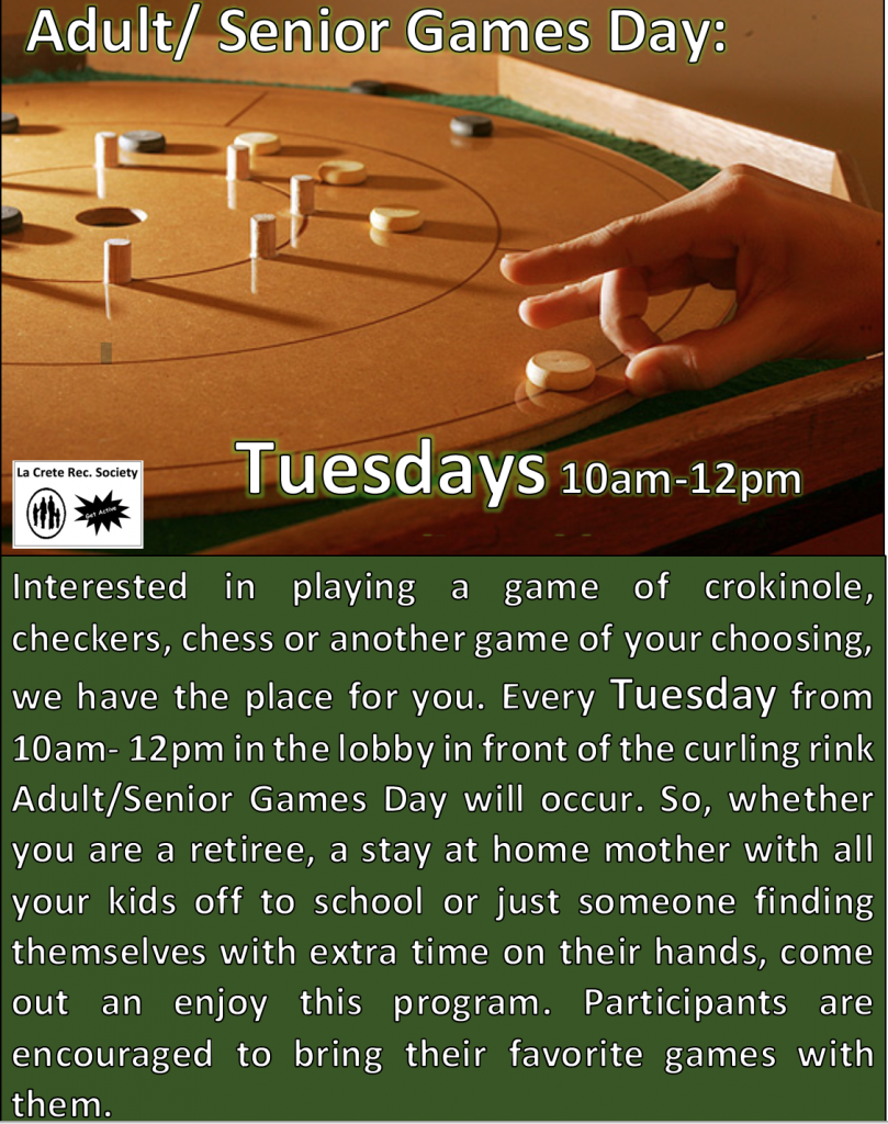 Adult:Senior Games Day 2019-20 FW