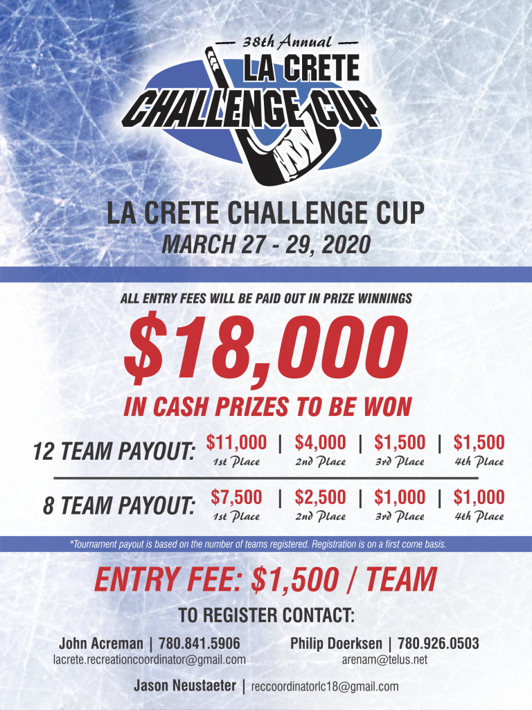 2020 Challenge Cup _ Poster