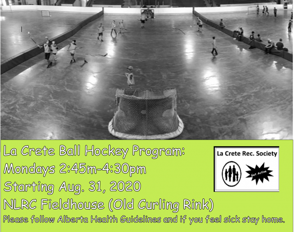 2020Youth ball hockey After school program Fall ab Aug 31, 2020